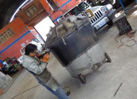 Reconstrucción y fabricación de moldes para tanques de agua