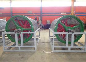 Fabricación de cilindros pescadores para celulosa y Fibrocemento