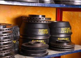 fabricación de tambores de frenos para el parque automotriz